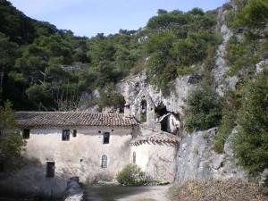 Ermitage du Lieu Plaisant près de Saint Guilhem le Désert