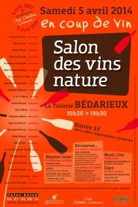 Salon des vins nature de Bédarieux