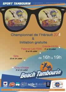 Beach Tambourin 2014