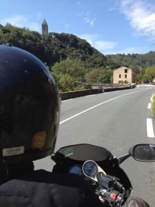L'Hérault à moto